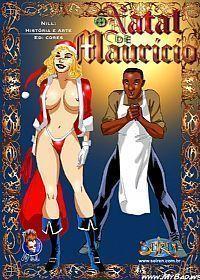 O natal de Maurício – Quadrinhos eróticos