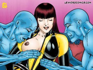 Watchmen – Desenhos de sexo
