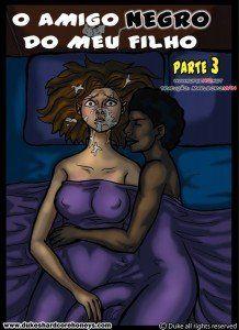O amigo negro do meu filho cap. 03 – Quadrinhos eróticos