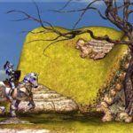 Bretonnia Knight in Dragon's Lair