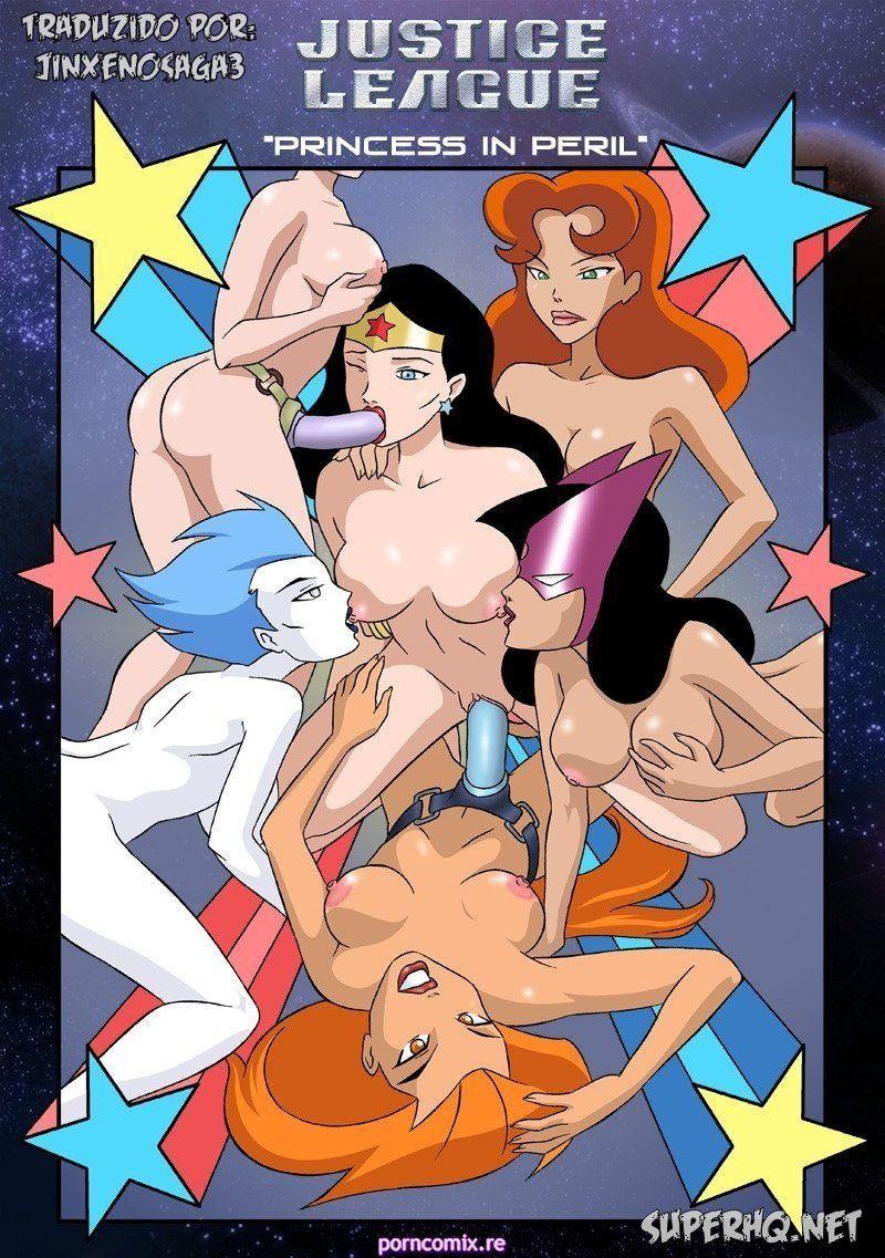 Hentaihome-Justice-League-Princess-Orgias-lésbicas-com-heroinas-da-liga-justiça-1