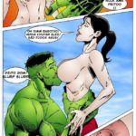 Hulk fodendo com Betty