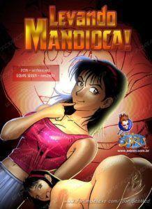 Levando a mandioca - Quadrinhos de sexo