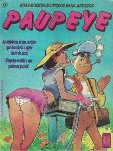 Paupeye - Quadrinhos de sexo