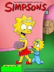 Simpsons de sexo – O casamento de Liza