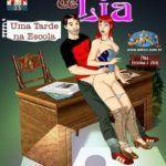As aventuras de Lia – Uma tarde na escola