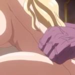 Rainha peituda hentai sendo comida por monstro dotado