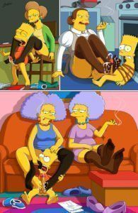 Simpsons FootJobs