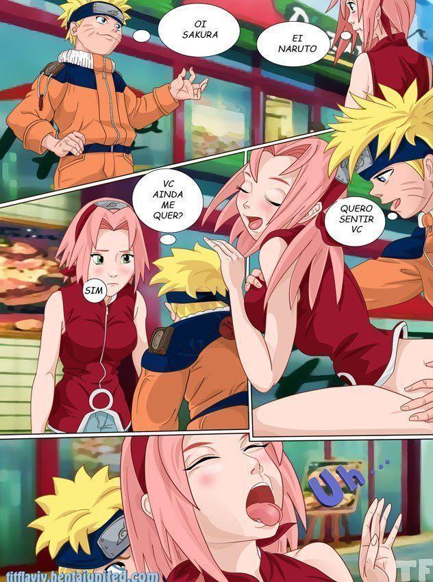 Naruto taradinho por Sakura