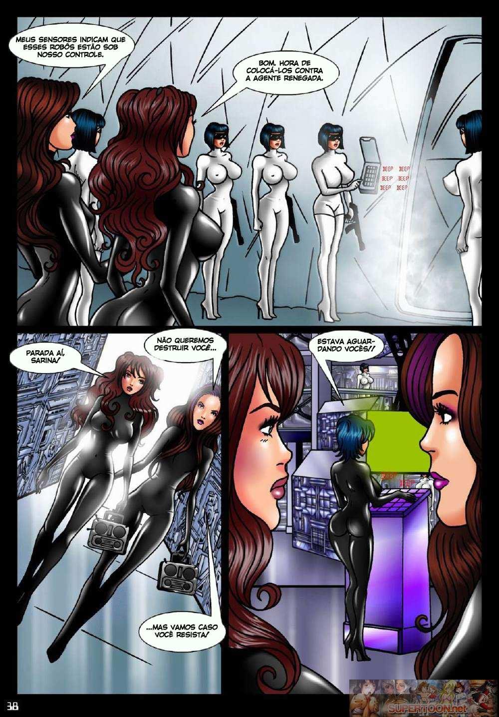 Robôs renegadas – Quadrinhos de sexo