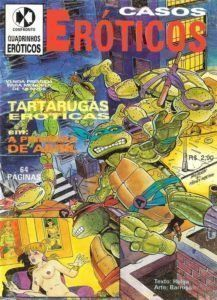 Tartarugas tarados – Quadrinhos pornô
