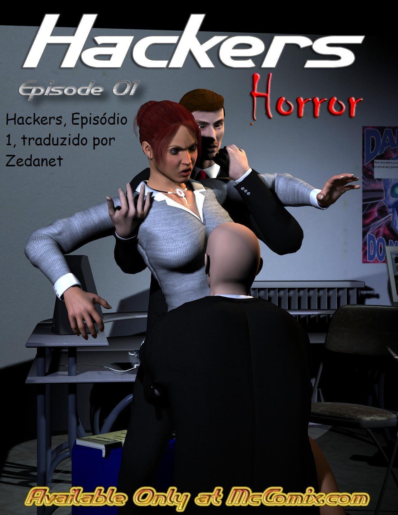 A hacker violentada