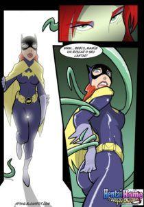 Batgirl Pornô – As bandida lésbicas