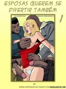 Esposas querem se divertir também parte 01 – Quadrinhos eróticos