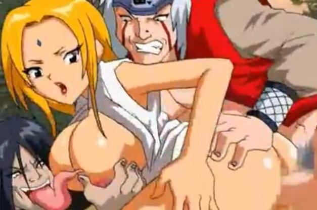 Tsunade à puta dos ninjas – Naruto Hentai