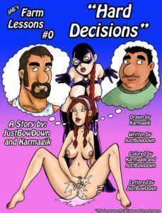 Lições na fazenda capítulo 00 - Decisão difícil