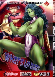 Homem de ferro e Mulher Hulk – Vingadores Pornô