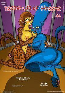 Os Simpsons – A casa de horrores parte 01