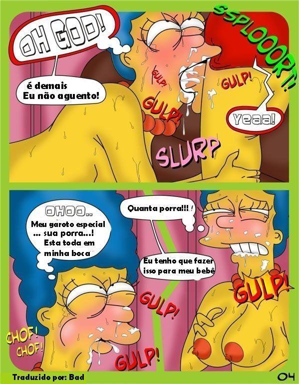 Hentaihome-Os-Simpsons-Marge-bebada-fodendo-com-Bart-4