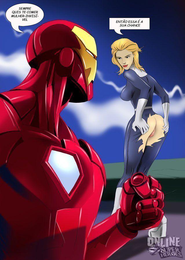 Homem de Ferro x Mulher Invisível