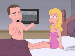 Desenho engraçado com cenas erótica