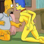 Os Simpsons –Homer quer fazer anal com Marge