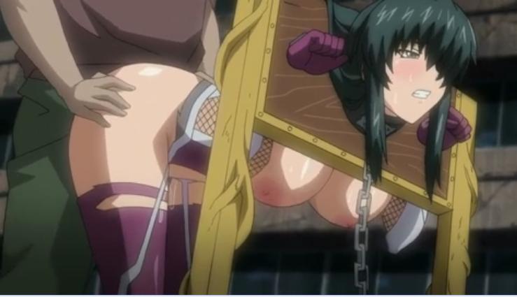Escravas sexuais estupradas por três dias Hentai