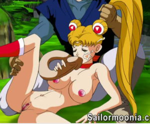Sailor Moon porno transando com Dragon Ball