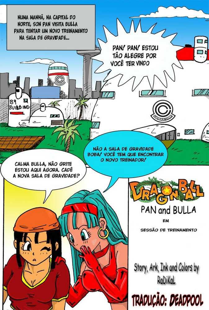 O novo treinador – Pan e Bulma