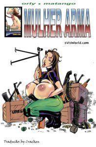 Mulher arma peituda