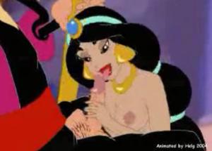 Porno com desenhos famosos da Disney