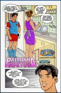 Priminha gostosa 01 - Quadrinhos eróticos