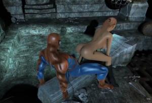 Homem Aranha Pornô fode Mary Jane