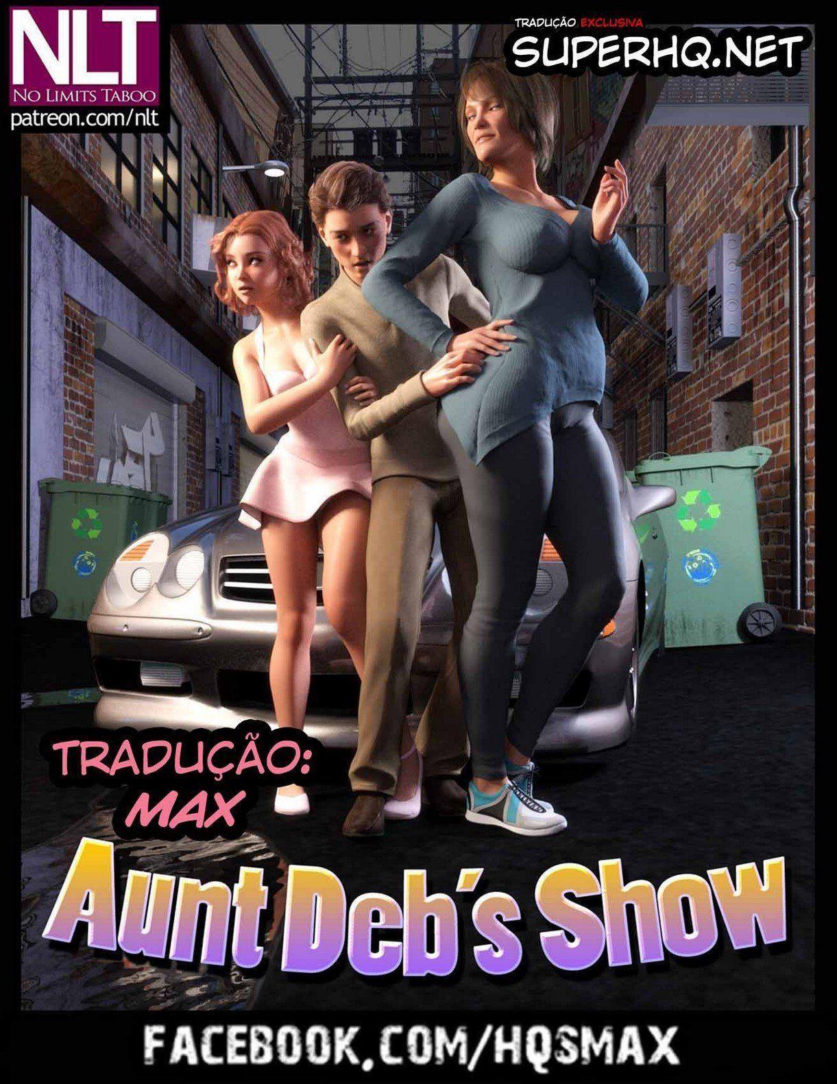 Show da tia Deb – Desenhos de sexo
