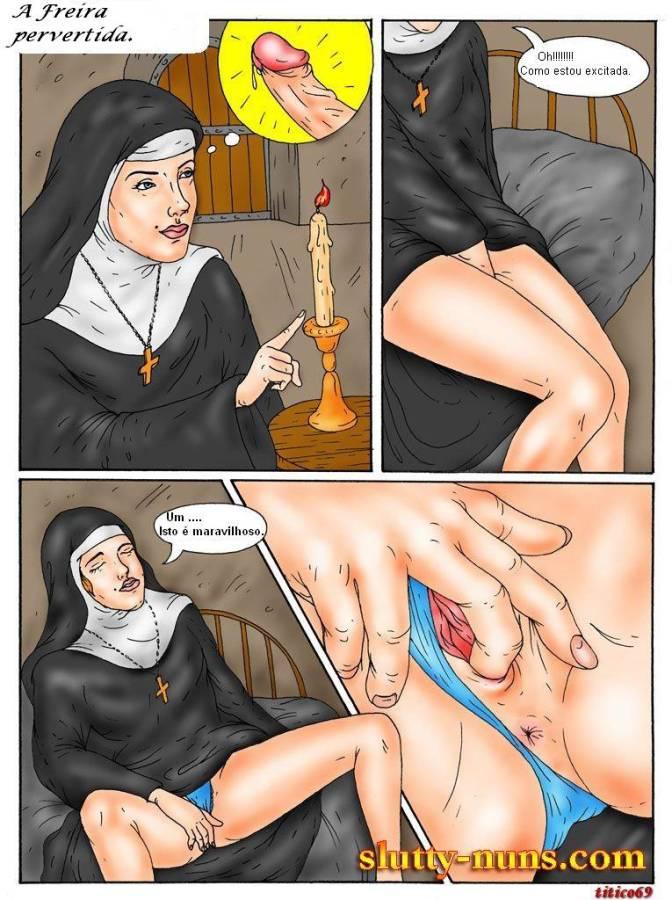 A freira pervertida