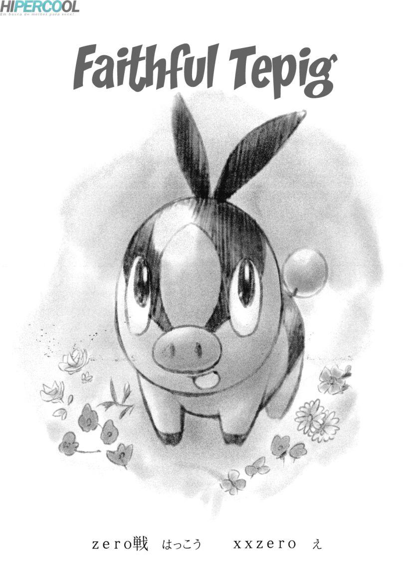 Pokémon gozando no pau dos animais