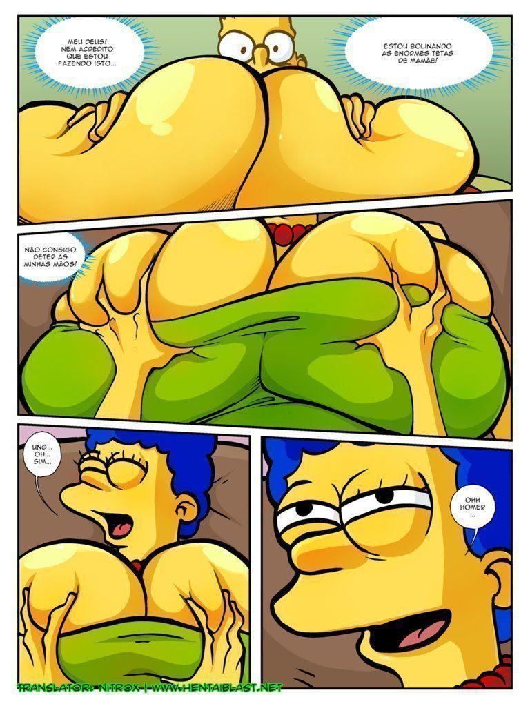 Simpsons-incesto-Marge-com-peitões-novos-17