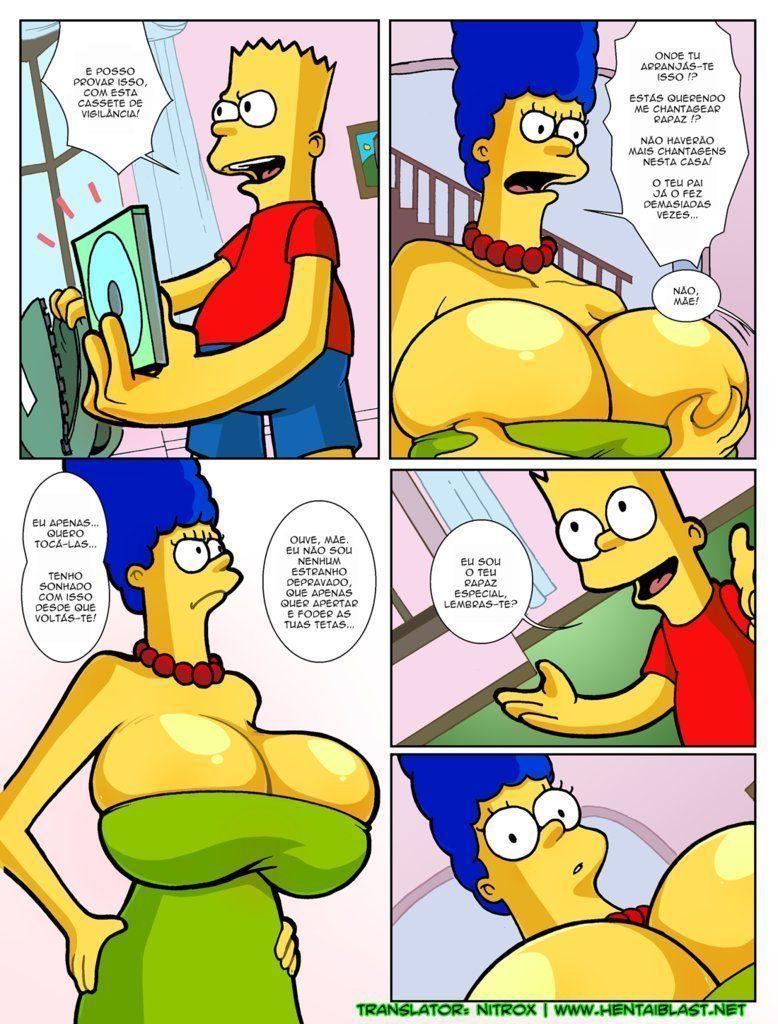 Simpsons-incesto-Marge-com-peitões-novos-19