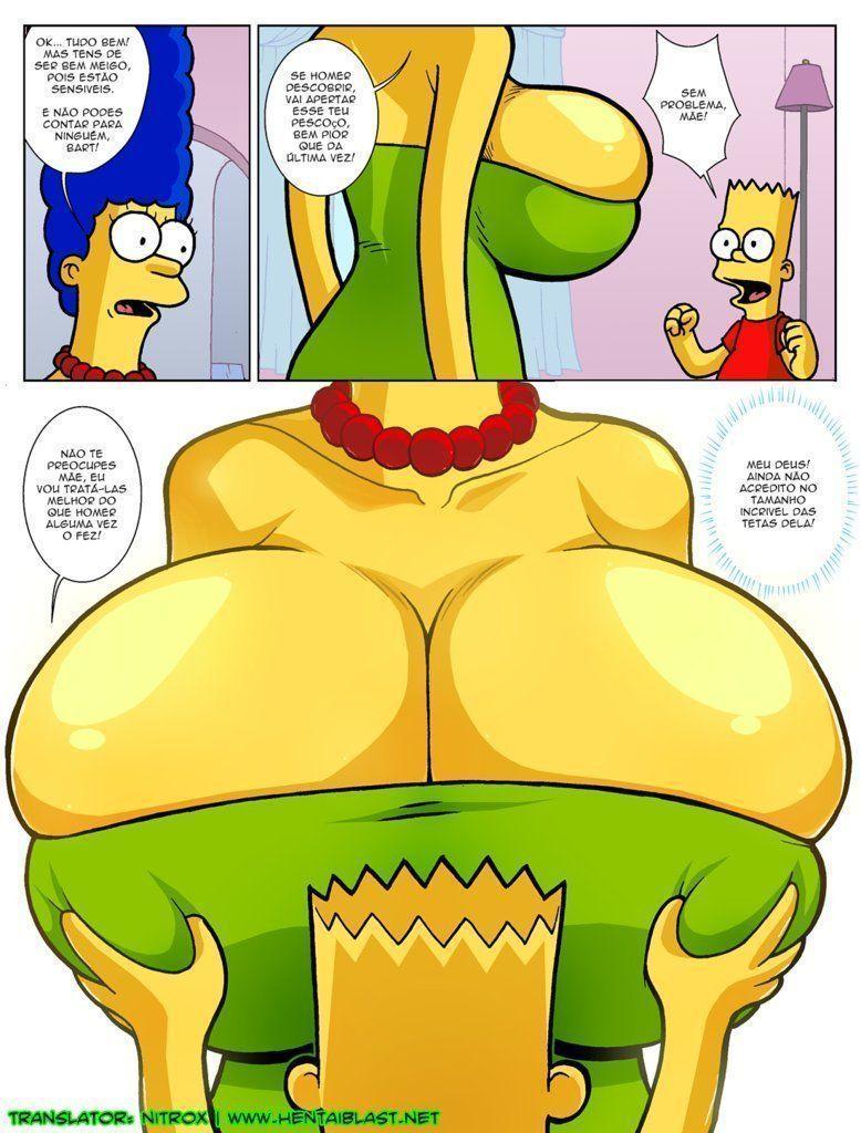 Simpsons-incesto-Marge-com-peitões-novos-20