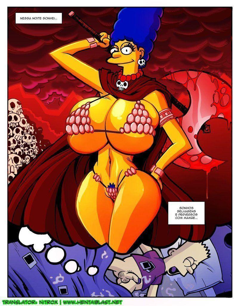 Simpsons-incesto-Marge-com-peitões-novos-6