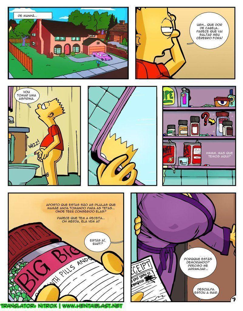 Simpsons-incesto-Marge-com-peitões-novos-7