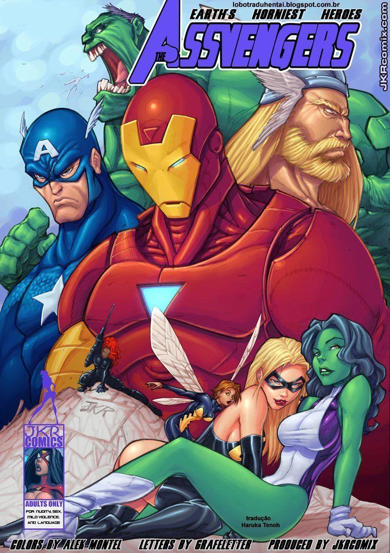 Vingadores XXX – She-Hulk