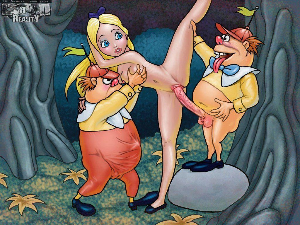 Alice – A putinha do País das Maravilha XXX