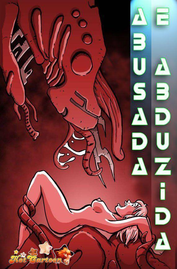 Abduzida e estuprada