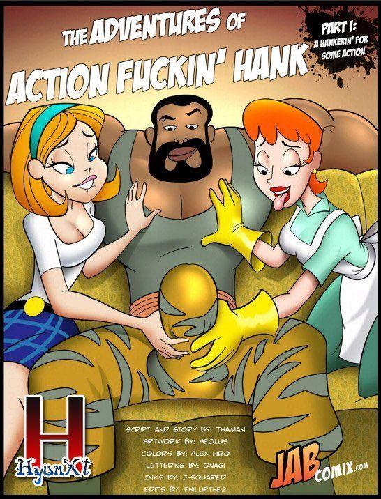 Quadrinhos pornô – Ação e sexo