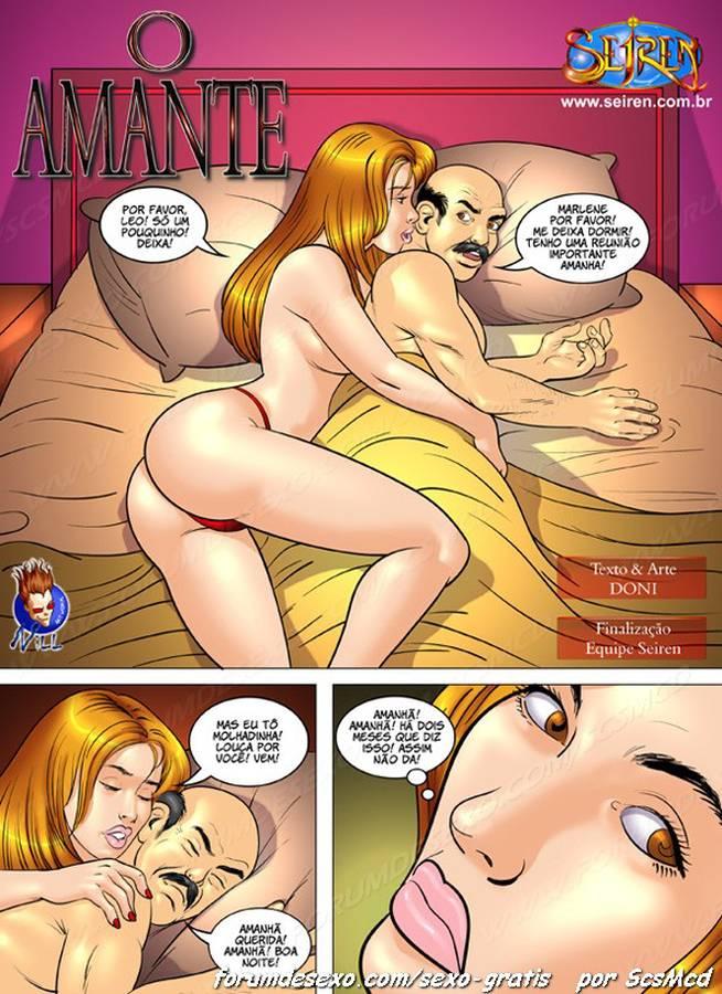 O amante - HQ de Sexo (2)