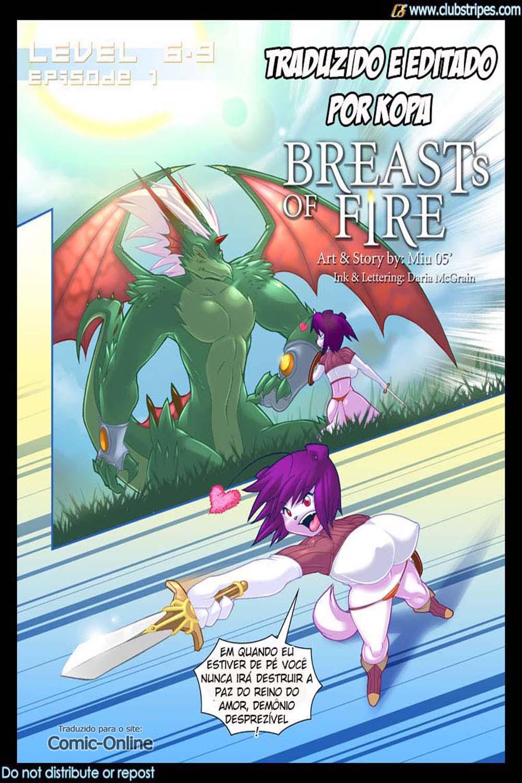 Peitudas de fogo – Comics adulto
