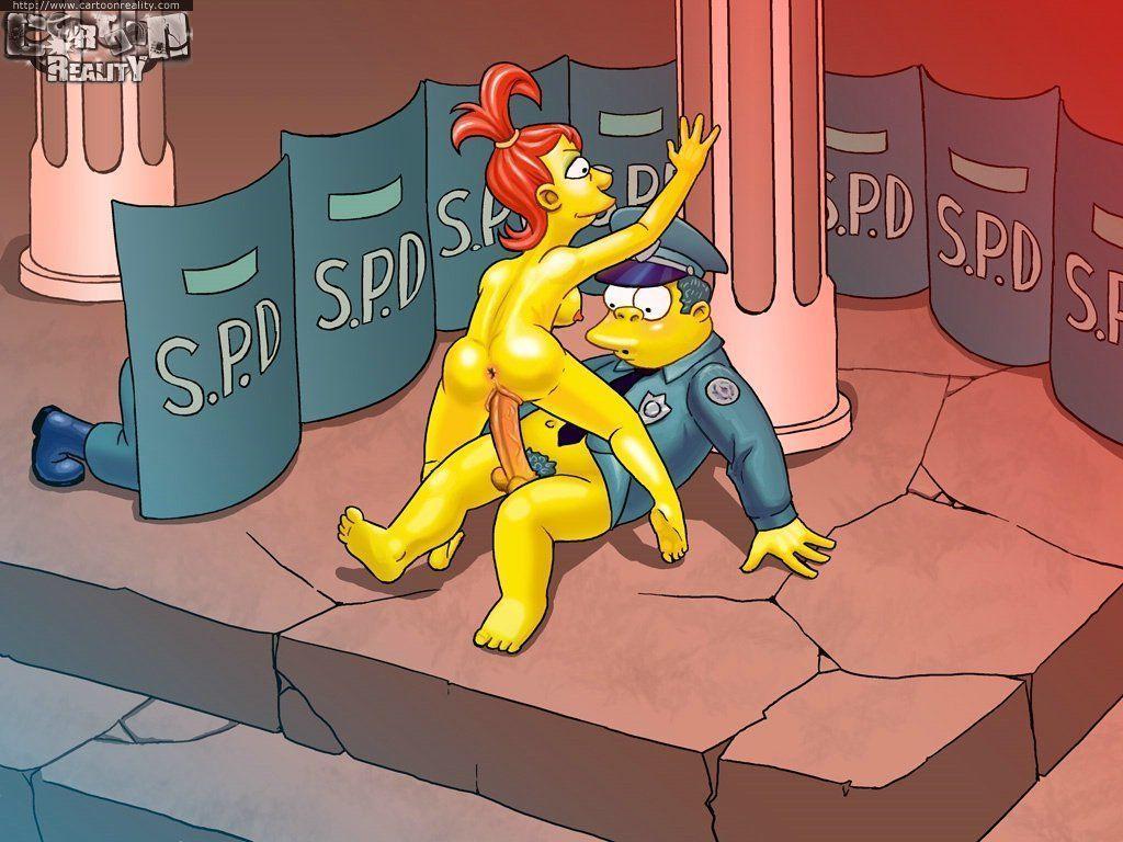 Desenhos The Simpsons na putaria (15)