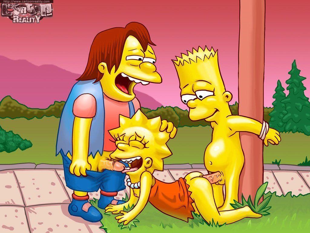 Desenhos The Simpsons na putaria (3)