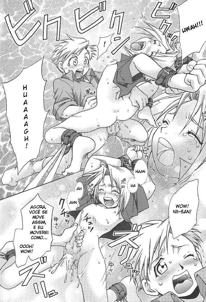 Fullmetal Alchemist - Experiência gay com irmão (22)